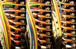 Ηλεκτρικά τερματικά Στοκ φωτογραφία με δικαίωμα ελεύθερης χρήσης