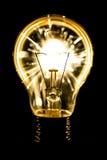 Ηλεκτρικά sparklers στην ιδέα βολβών Στοκ φωτογραφία με δικαίωμα ελεύθερης χρήσης