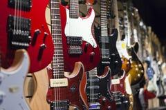 ηλεκτρικές κιθάρες Στοκ φωτογραφία με δικαίωμα ελεύθερης χρήσης