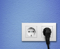 ηλεκτρική έξοδος Στοκ εικόνα με δικαίωμα ελεύθερης χρήσης