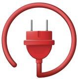 Ηλεκτρικό βούλωμα Στοκ Εικόνες