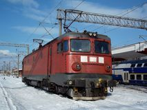 Ηλεκτρική ατμομηχανή Στοκ Φωτογραφία