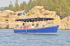 Ηλεκτρική βάρκα στοκ εικόνες