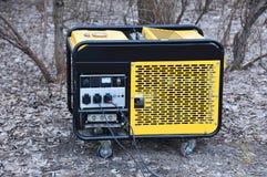 Ηλεκτρική γεννήτρια της Mobil στοκ φωτογραφία