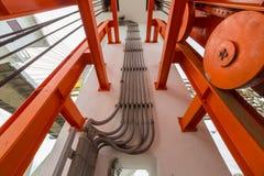 Ηλεκτρική γραμμή σωλήνων Στοκ Εικόνες
