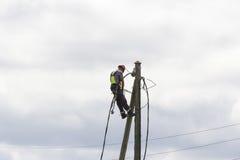 Ηλεκτρική ενέργεια σε όλοι Στοκ Εικόνες