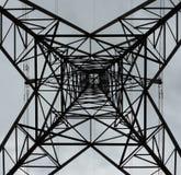 ηλεκτρική ενέργεια δύο φωτισμού καλωδίων Στοκ Εικόνες