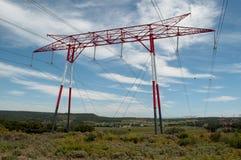 ηλεκτρική ενέργεια δύο φωτισμού καλωδίων Στοκ φωτογραφίες με δικαίωμα ελεύθερης χρήσης