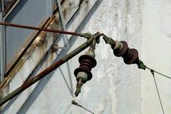Ηλεκτρική εναέρια γραμμή Στοκ φωτογραφίες με δικαίωμα ελεύθερης χρήσης