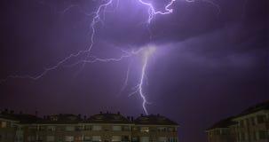 Ηλεκτρική θύελλα Στοκ εικόνες με δικαίωμα ελεύθερης χρήσης