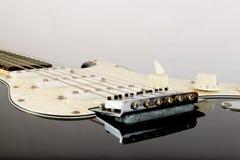 Ηλεκτρική κιθάρα επάνω στενή Στοκ Φωτογραφίες