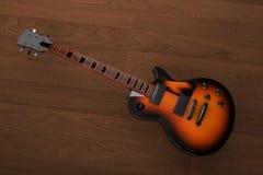 Ηλεκτρική κιθάρα κιθάρων Στοκ εικόνα με δικαίωμα ελεύθερης χρήσης