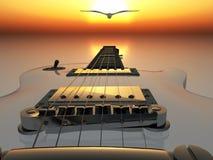 ηλεκτρική κιθάρα ελεύθερη απεικόνιση δικαιώματος