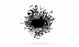 ηλεκτρική μουσική απεικόνισης κιθάρων έννοιας Στοκ φωτογραφίες με δικαίωμα ελεύθερης χρήσης