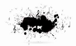 ηλεκτρική μουσική απεικόνισης κιθάρων έννοιας Στοκ Φωτογραφία