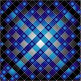 Ηλεκτρική μπλε σύσταση πλέγματος Στοκ Εικόνα