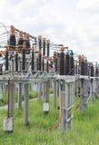Ηλεκτρική σειρά σπειρών Στοκ φωτογραφία με δικαίωμα ελεύθερης χρήσης