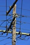 Ηλεκτρική σύνδεση καλωδίων Στοκ εικόνα με δικαίωμα ελεύθερης χρήσης