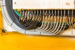 ηλεκτρική σύνδεση κιβωτίων Στοκ εικόνα με δικαίωμα ελεύθερης χρήσης