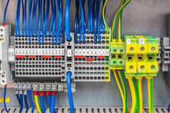 Ηλεκτρική σύνδεση Στοκ εικόνα με δικαίωμα ελεύθερης χρήσης