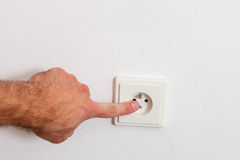 Ηλεκτρική υποδοχή στοκ φωτογραφίες με δικαίωμα ελεύθερης χρήσης