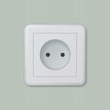 Ηλεκτρική υποδοχή 07 Europlug στοκ φωτογραφίες