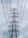 Ηλεκτρική υψηλή μετάδοση Στοκ Εικόνες
