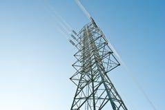 ηλεκτρική υψηλή τάση ισχύο Στοκ φωτογραφίες με δικαίωμα ελεύθερης χρήσης