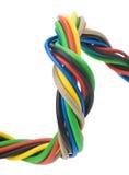 ηλεκτρική φάση τρία καλωδί& Στοκ Φωτογραφίες