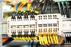 ηλεκτρικοί switchers ισχύος γρα& στοκ εικόνες με δικαίωμα ελεύθερης χρήσης