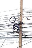 Ηλεκτρικός ακατάστατος καλωδίων Στοκ εικόνα με δικαίωμα ελεύθερης χρήσης