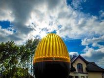 Ηλεκτρικός λαμπτήρας πυλών Στοκ Φωτογραφίες