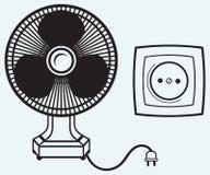 Ηλεκτρικός ανεμιστήρας ελεύθερη απεικόνιση δικαιώματος