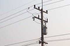 Ηλεκτρικός μετασχηματιστής Στοκ Φωτογραφία