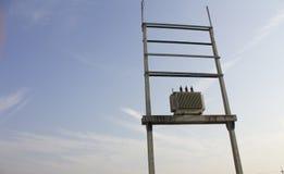 ηλεκτρικός μετασχηματιστής Στοκ φωτογραφία με δικαίωμα ελεύθερης χρήσης