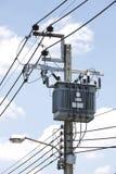 ηλεκτρικός μετασχηματι&sig Στοκ Φωτογραφίες