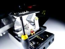 Ηλεκτρικός μετρητής που πειράζει και που καθορίζει Στοκ Εικόνα