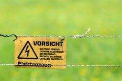 Ηλεκτρικός ξιφομάχος Στοκ εικόνα με δικαίωμα ελεύθερης χρήσης