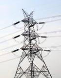 ηλεκτρικός ουρανός ισχύος γραμμών Στοκ Εικόνες