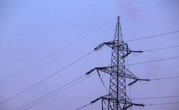 ηλεκτρικός πόλος Στοκ Εικόνες