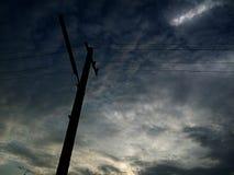 ηλεκτρικός πόλος Στοκ εικόνες με δικαίωμα ελεύθερης χρήσης
