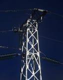 Ηλεκτρικός πύργος μετάλλων Στοκ εικόνα με δικαίωμα ελεύθερης χρήσης
