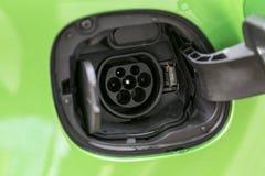 Ηλεκτρικός συνδετήρας δύναμης αυτοκινήτων Στοκ φωτογραφία με δικαίωμα ελεύθερης χρήσης