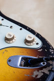ηλεκτρικός τρύγος κιθάρ&omega Στοκ φωτογραφία με δικαίωμα ελεύθερης χρήσης
