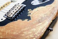 ηλεκτρικός τρύγος κιθάρ&omega Στοκ εικόνα με δικαίωμα ελεύθερης χρήσης
