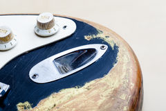 ηλεκτρικός τρύγος κιθάρ&omega Στοκ Φωτογραφία