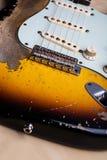 ηλεκτρικός τρύγος κιθάρ&omega Στοκ Εικόνες