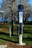 Ηλεκτρικός φορτιστής οχημάτων Στοκ Εικόνες