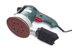 Ηλεκτρικό εργαλείο γυαλόχαρτου για την εγχώρια handyman χρήση, που απομονώνεται Στοκ Φωτογραφίες
