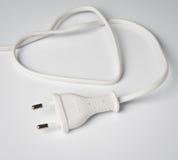 ηλεκτρικό λευκό βυσμάτω&n Στοκ φωτογραφίες με δικαίωμα ελεύθερης χρήσης